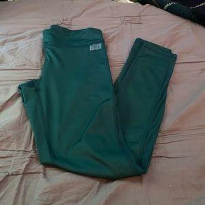 Emerald Green Workout Pants